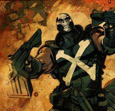 X__X • 死 者 の 顔 • #variant #punisher