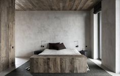 Concrete Penthouse in Antwerp by Vincent Van Duysen 10