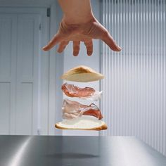 Floating Kitchen Items in Francesco Mattucci's #KitchenSuspension