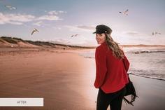 Flying Seagulls Photoshop Overlay – 31 High-quality Photoshop Overlays