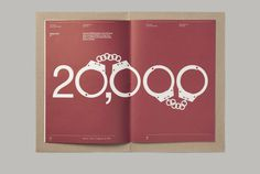 This is Real Art. — Privacy International Prospectus #print #layout #editorial #handcuffs