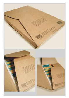 Package for type postcards on Behance #packaging