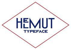 image #helmut #deco #typeface
