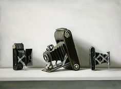 Christopher Stott – Ultra realist painter - Jared Erickson   Jared Erickson #camera #classic #retro #realist #painting