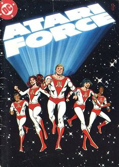 Atari - Atari Force 1 | Flickr - Photo Sharing! #games #comic #video #illustration #manual #booklet