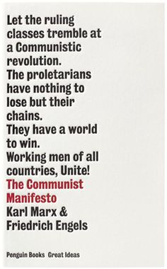 Communist Manifesto #cover #editorial #book