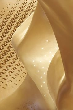 Guangzhou Opera House #architecture #golden #gold