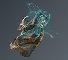 Sculptures created in Houdini