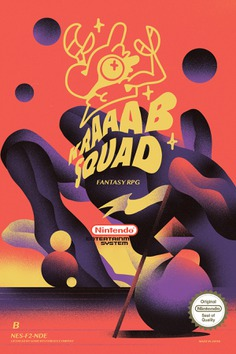 KRAAAB SQUAD - NES GAME on Behance