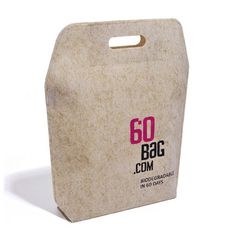 60 bag packaging design biodegradable