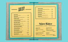 Hornhuset #menu #identity #food #print