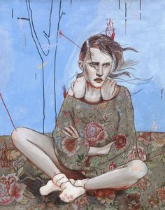 Alexandra Levasseur   PICDIT #design #artwork #art #painting #drawing