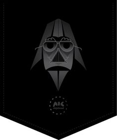 Groucho Bader on the Behance Network #groucho #bader #starwars #darth #cartoon #funny #cool
