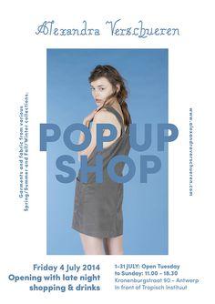 Alexandra Verschueren Pop Up shop