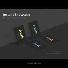 Business cards on black wall mock up Free Psd. See more inspiration related to Mockup, Business, Template, Black, Web, Website, Wall, Mock up, Cards, Templates, Website template, Mockups, Up, Web template, Realistic, Real, Web templates, Mock ups, Mock and Ups on Freepik.