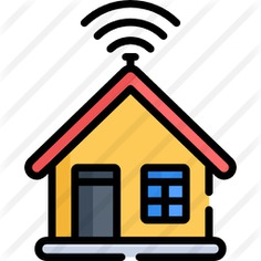 See more icon inspiration related to domotics, smart house, smart home, technological, real estate, electronics, house, buildings, wifi, signal and technology on Flaticon.