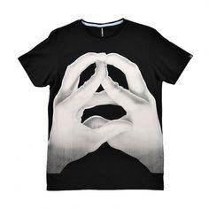 Jesse Auersolo Artist Series T-Shirt by Sixpack France. | LOOM. #auersolo #jesse #hands