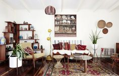 AUSTRALIAN HOMES : Rose Jensen-Holm and Dan James. Divano e poltrone