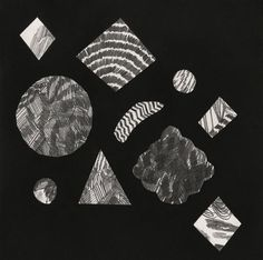 Asteroids : Liam Stevens #shapes #drawing