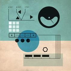 September » 2009 » ISO50 Blog – The Blog of Scott Hansen (Tycho / ISO50) » Page 4 #illustration #art #chad hagen #analog controls