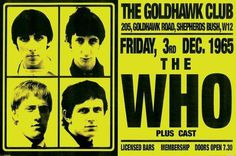 The Who Live at The Goldhawk Club poster #poster