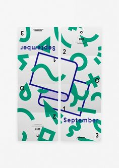 cgvdv: Spielzeit Flyer / Poster – September 2013for Theater Bremen #print