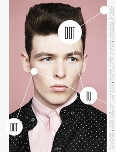 Dot to Dot | Volt Café | by Volt Magazine #design #graphic #volt #photography #art #fashion #layout #magazine #typography