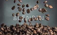 Blend In Coffee Club Logo #coffee #branding #logo #design