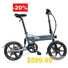 FIIDO #D2 #Shifting #Version #Variable #speed #Folding #Moped #Electric #Bike #7.8Ah #16in #Wheel #From #Poland