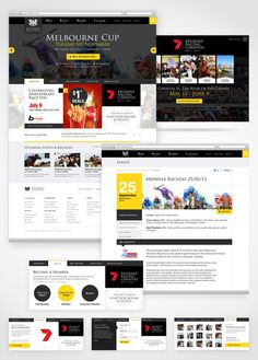 BRC Website on Behance