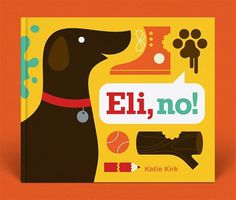 EliNo_1.jpg 600×511 pixels #illustration #book cover #colorful #dog
