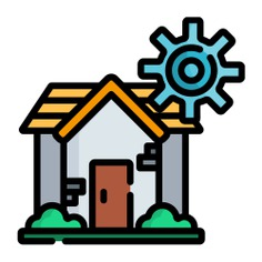 See more icon inspiration related to construction and tools, architecture and city, home automation, smart home, architecture, gear and cogwheel on Flaticon.