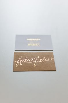 FF Business Cards #print #minimal #name card