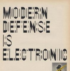 Vintage Science And Tech Ads » ISO50 Blog – The Blog of Scott Hansen (Tycho / ISO50) #vintage #typography