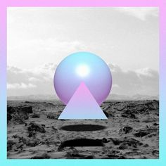 Matt Conklin #album art #beach #shapes #chillwave #sacramento