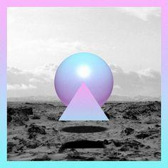 Matt Conklin #album #sacramento #shapes #chillwave #art #beach