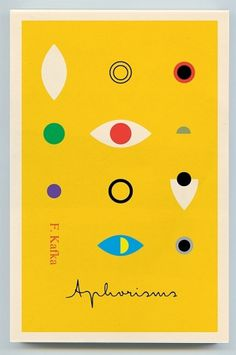 Creative Review - Covering Kafka with colour #design #graphic #book #cover #kafka