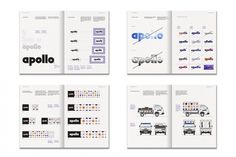 Mike Abbink _ __Apollo Tyres Identity, 2008. #branding #guide #guidelines #corporate #style