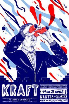 Communication Poster of the KRAFT Festival N ° 1