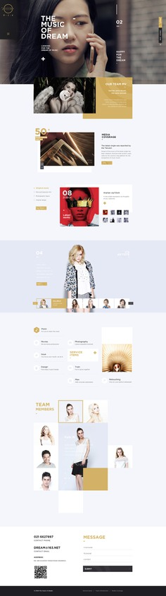 The music of dream梦之乐品牌官网 on Behance