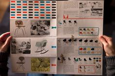 typetoy.tumblr.com #miller #catalog #catalogue #furniture #layout #herman #brochure #eames
