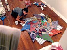 The Invariant Set | PICDIT #painting #sculpture #color #art