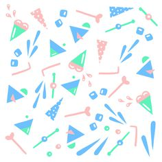 Summer Mural on Behance #pattern #summer