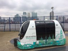 Oxbotica Self Driving Shuttle - IPPINKA a new driverless shuttle bus called Oxbotica