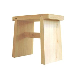 Hinoki Sauna Stool - IPPINKA The Hinoki Sauna Stool is a small and lightweight stool that utilizes therapeutic wood. Made of hinoki or Japanese cypress wood, it is lightweight and can fit most shower and bathroom corner spaces. It has natural antibacterial properties and is highly resistant to humidity and rotting.
