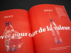 Tout se transforme, et nous ? Eco-Emballages - Rapport Annuel 2012 #dataviz #visu #visualisation #design #graphic #direction #data #art #editorial