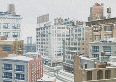 Snowscapes: Animated Gif Photographs by Nick Sellek