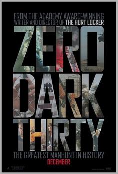 Zero Dark Thirty Poster Design