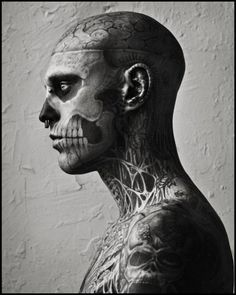 Ian Walsh Design #skull #photography #tattoo #blackwhite