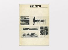 ulm 10/11 Journal of the Hochschule für Gestaltung, May 1965 via www.thisisdisplay.org